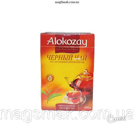 Чай Alokozay СРЕДНЕЛИСТОВОЙ FBOP, 100г, фото 2