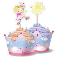 """Прикраси для кексів """"Зіркова фея"""""""