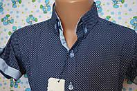 Рубашка короткий рукав опт 6-12 лет