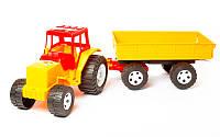 Трактор с прицепом 007/4 Бамсик