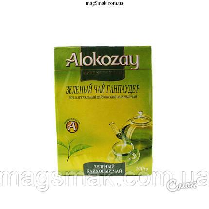 Чай Alokozay / Алокозай зеленый,100 г, фото 2