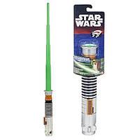 Уценка! Звездные войны раздвижной световой меч Люка Скайуокера длиной 75 сантиметров. Оригинал Hasbro