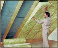 Монтаж утеплителя крыши