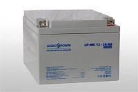 Аккумулятор мультигелевый 12V 26Ah LogicPower LP-MG 12-26