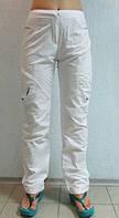 Женские спортивные штаны ADIDAS (671) белые код 0110 Б