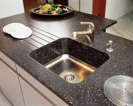 Мойки кухонные из искусственного камня