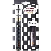 Электронная сигарета EVOD Twist III 3 M16 Micro USB 1600mah  Black