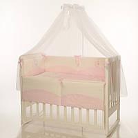 Детское постельное белье Маленькая Соня Tutti розовый, фото 1