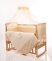 Детское постельное белье Маленькая Соня шоколадный, фото 1