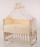 Детское постельное белье Маленькая Соня Golden Baby желтый