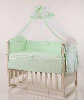 Детское постельное белье Маленькая Соня Golden Baby зеленый