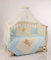 Детское постельное белье Маленькая Соня Tiny Love голубой