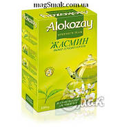 Чай Alokozay зеленый с жасмином, 100 г