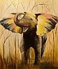 «Слон» картина маслом
