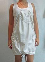 Сарафан Adidas белый (58379)  код 65д