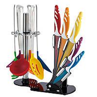 Набор кухонных ножей и принадлежностей Royalty Line Switzerland (12 предметов, Швейцария) + Доска в подарок!