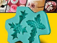 Молд силиконовый для мастики  крестики №1