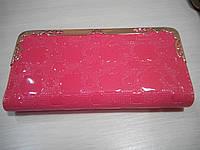 Женский кошелек-клатч Apple, коралловый