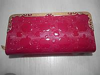Женский кошелек-клатч Apple, красный