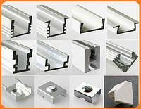 Кріплення світлодіодної стрічки за допомогою алюмінієвого профілю