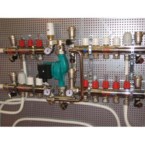Коллекторы для теплого пола и водопровода