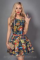 Женское нарядное летнее платье размеры 44,46