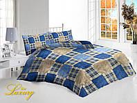Полуторный комплект постельного белья «Шотландка»