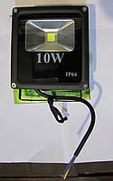 Прожектор светодиодный плоский 10W холодный IP-66, фото 1