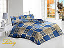 Двуспальный набор постельного белья «Шотландка»