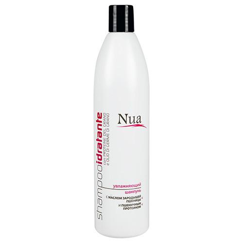 """""""Nua"""" Увлажняющий шампунь с маслом зародышей пшеницы и пшеничным протеином 500мл"""