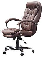 Кресло руководителя Венеция Хром HB  кожзам / кожа, фото 1