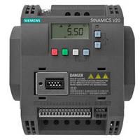 Частотный преобразователь Siemens V20 1,5 кВт, 1ф