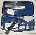 Насадка парная Dytron (Чехия) d75 мм с синим износоустойчивым покрытием для мечевидного (плоского) паяльника, фото 4