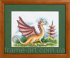 ПАННА Ф-517 Зов дракона, набор для вышивания нитками
