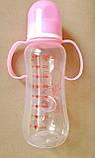 Бутылочка для кормления с соской. Пищевой пластик,  290мл,, фото 3