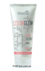 Шампунь против желтизны волос Nouvelle Color Glow True Blonde