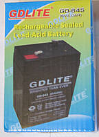 Аккумулятор GDLITE GD-645 6V 4.0Ah (DC6V4AH)