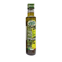 Оливковое масло Extra Vergine Goccia d'oro с орегано 250мл Италия