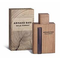 Мужская туалетная вода Armand Basi Wild Forest (Арманд Баси Ваилд Форест) древесный аромат