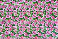 "Подарочная бумага для упаковки  "" Розы "" , размер 707х1000 мм"