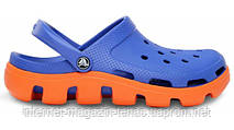 Мужски Crocs Duet Sport Clog Blue Orange