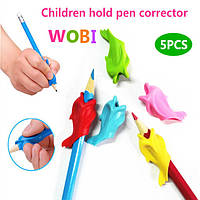 Ручка-самоучка, тренажер для письма дельфин