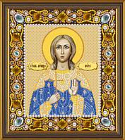 Новая Слобода Д6147 Св. Мц. Вера, набор для вышивания бисером