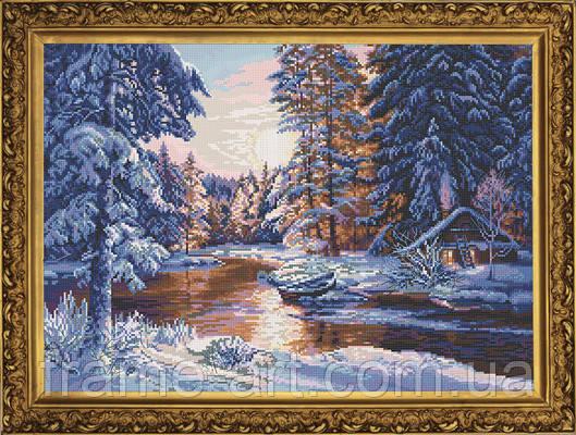 Новая Слобода ДМ3316 Зимняя феерия, набор для вышивания нитками