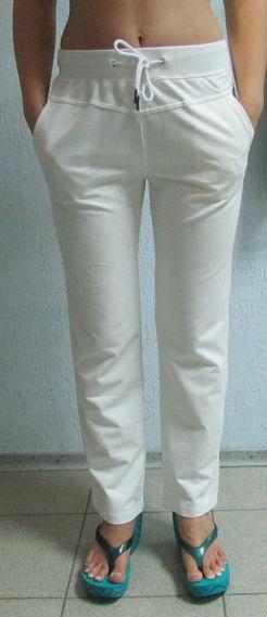 8e3bd86027b3 Женские спортивные штаны ADIDAS (1223) белые код 064 Б, цена 550 грн ...