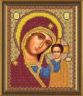 Новая Слобода БИС9036 Богородица Казанская, схема под бисер