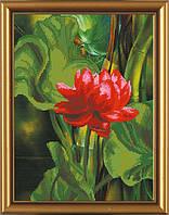 Новая Слобода БИС3008 Аленький цветочек, схема под бисер
