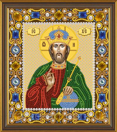 Новая Слобода Д6001 Христос спаситель, набор для вышивания бисером