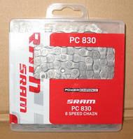 Велосипедная цепь Sram pc 830 (8 speed), фото 1