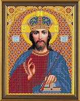 Новая Слобода БИС9061 Христос, схема под бисер